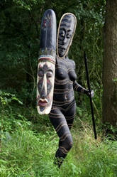 African warrior by amitbar