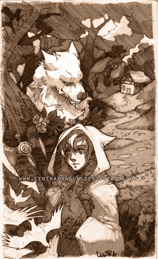 Red Riding Hood by KristenPlescow
