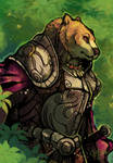 Speedpainting: Bear Knight