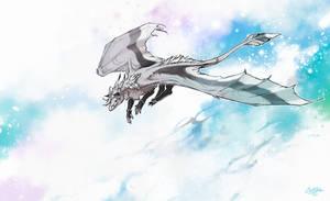 Speedpainting: Snow Flame by KristenPlescow