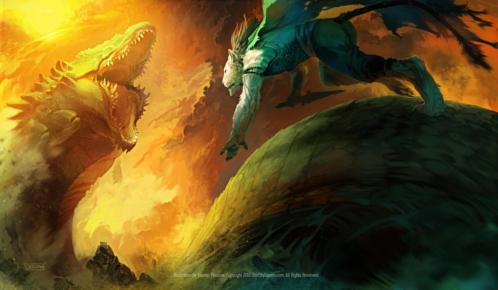 Desert Duel by KristenPlescow