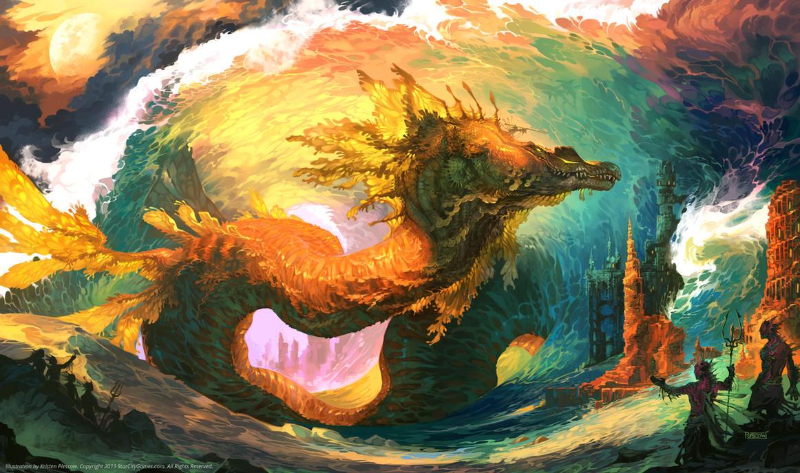 Waves of Power by KristenPlescow