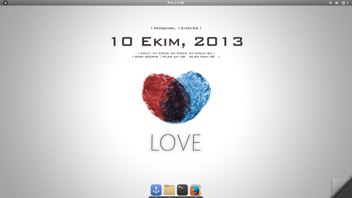 Love Antergos and Gnome 3.10 by TaylanTatli