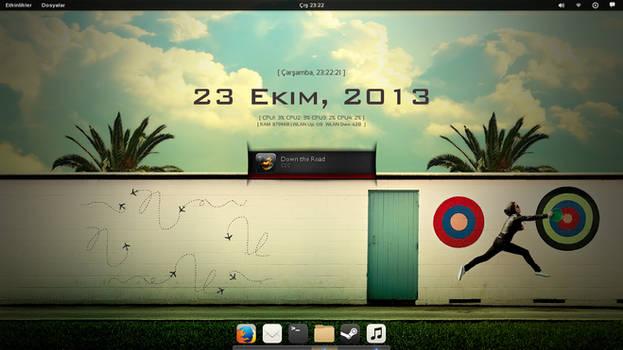 Fedora 19 Gnome Desktop