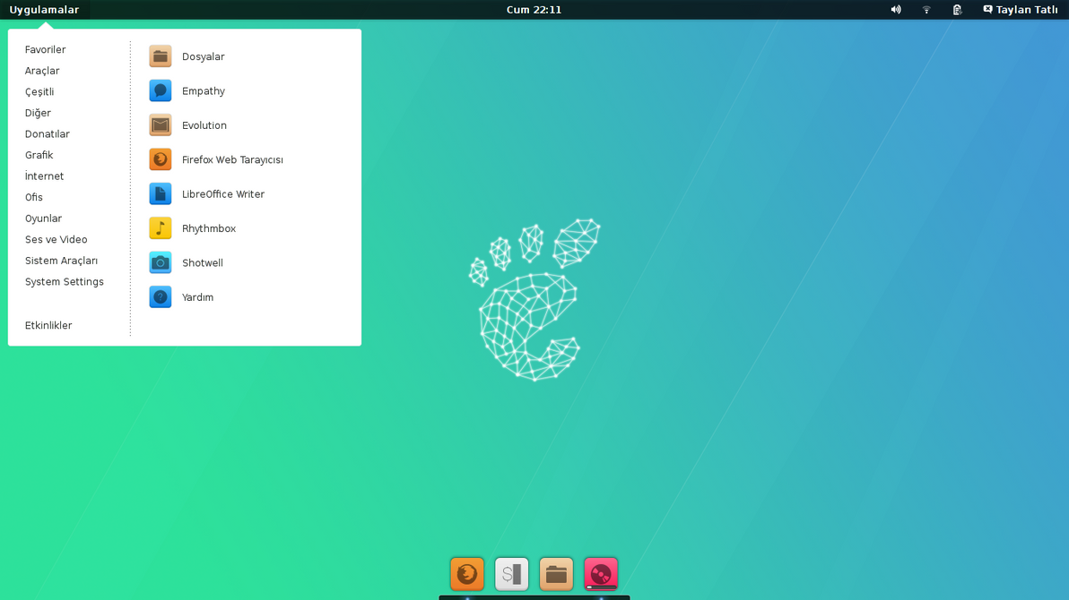 Ubuntu Gnome 13.10 by TaylanTatli