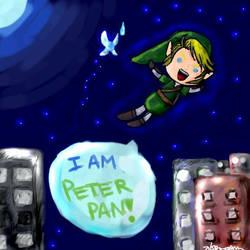 Link is Peter Pan? by LinksGirl
