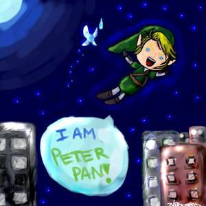 Link is Peter Pan?