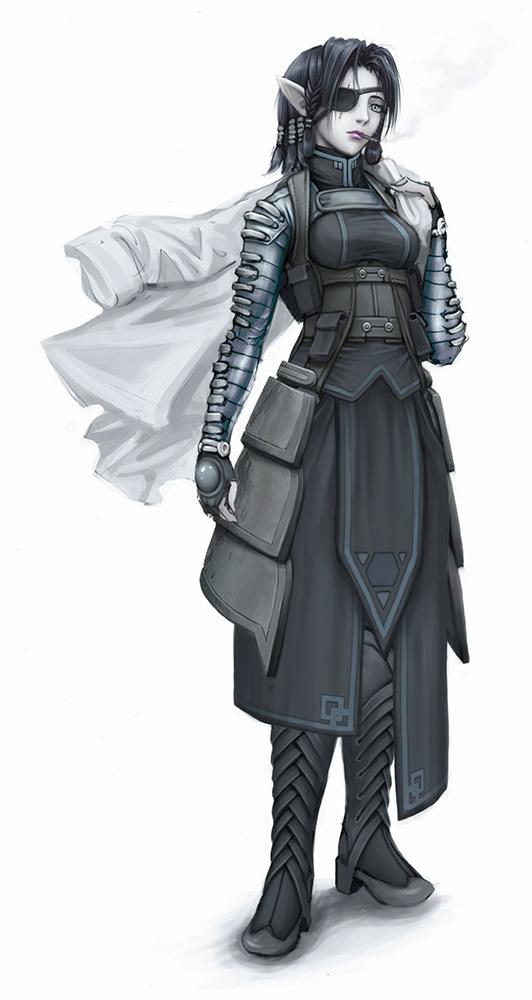DWarIII concept 04 by PlatypusGreen