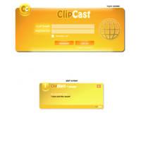 clipcast interface by manujg