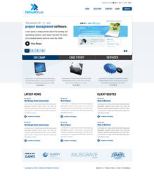 corporate web by manujg