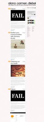 Minimal Blog Design