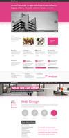 Design Agency Re - design project