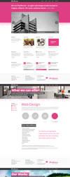 Design Agency Re - design project by manujg