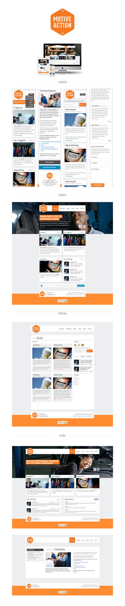 MA Responsive Design by manujg