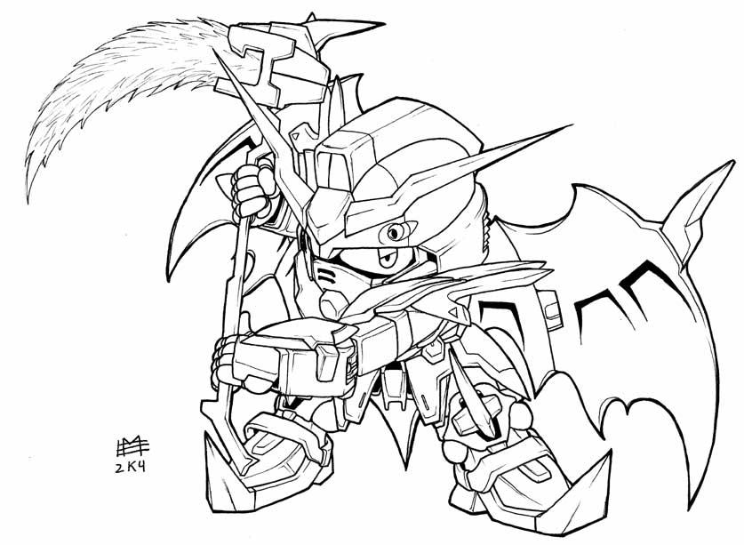g gundam coloring pages - photo #47
