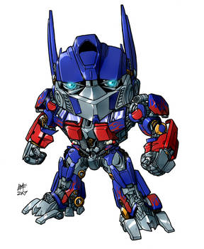 SD movie Optimus Prime