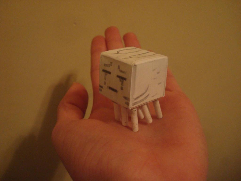 Mini ghast! by MasonAndAGhast