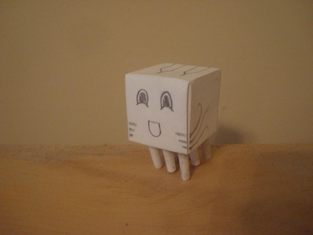 Nugget the mini-ghast by MasonAndAGhast