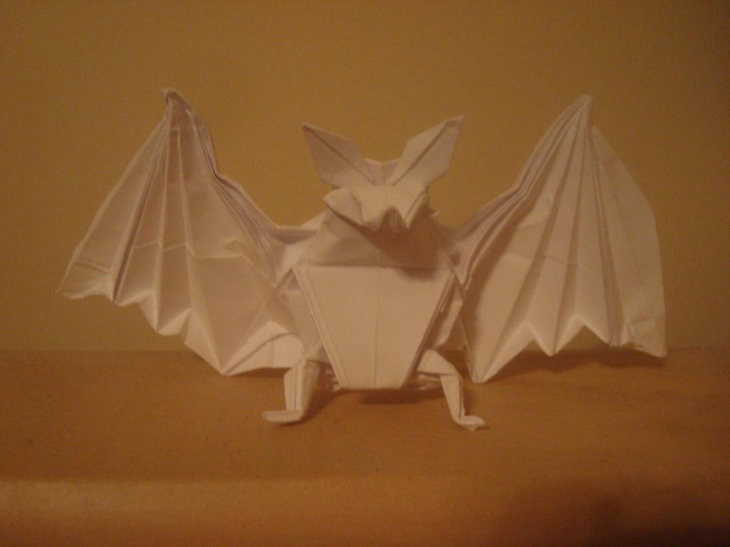 Origami bat by MasonAndAGhast