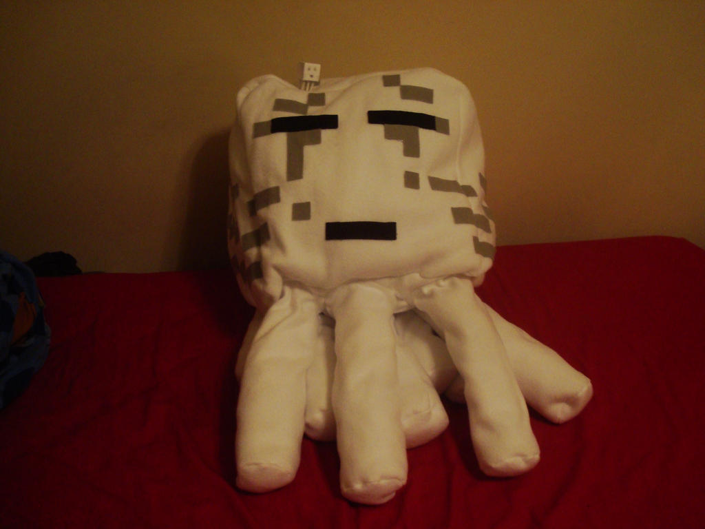 Giant plush ghast! by MasonAndAGhast