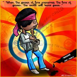 Fan art - Jimi Hendrix