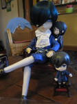 Little Ciel want some love too