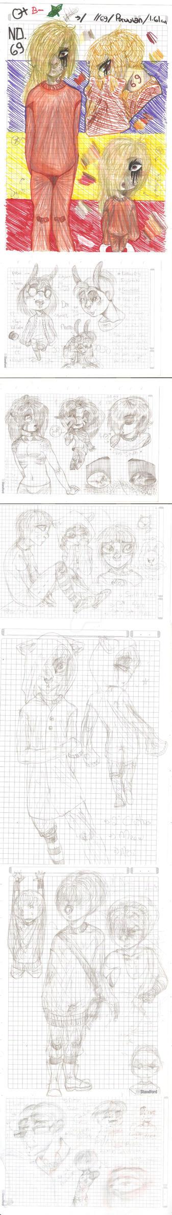 [ Dump Sketch / News Ocs ] by Princess-blackRoses