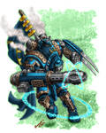 Predator Warjack color by DS