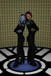 ST:GFO Ladies of Honor by NewPlanComics