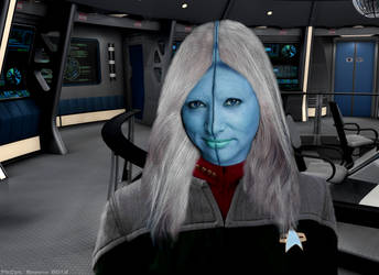 Captain Sylda Parrin by NewPlanComics
