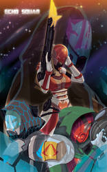 Echo Squad by TR by NewPlanComics