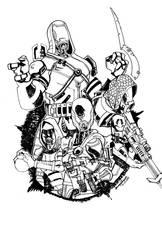Echo Squad by LP by NewPlanComics