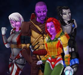 Echo Squad By Guruofnonsense by NewPlanComics