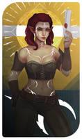 Dragon Age Tarot Card - Ylva