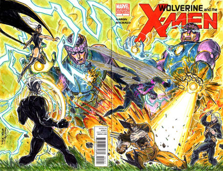 Wolverine and the X-men #1 Esad Ribic homage cover