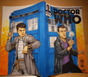 Doctor Who Cover by Gus Vazquez