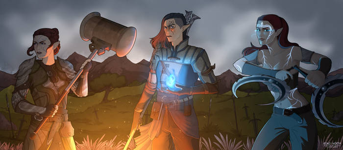 Dragon Age: Ghosts in Old Battlefields