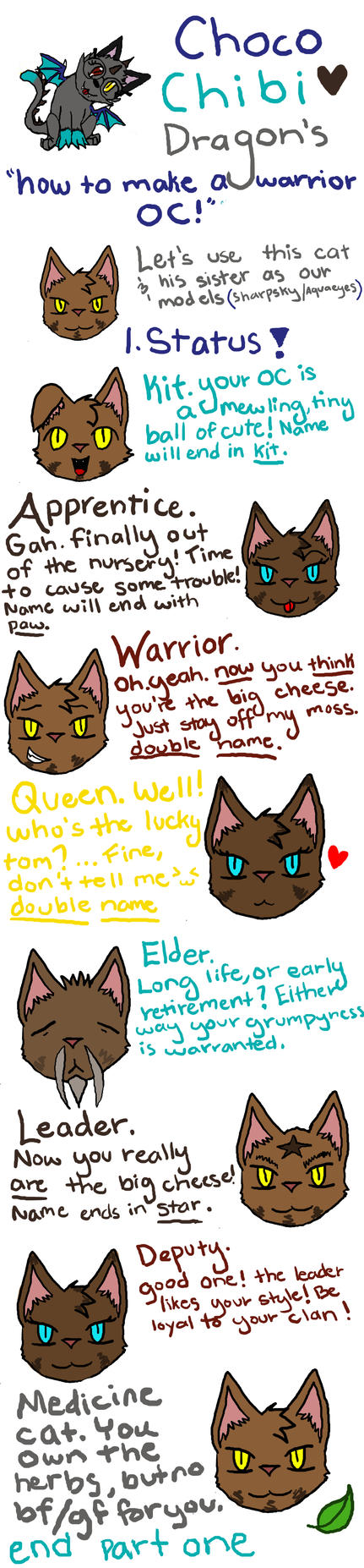 Warrior Cats Guides