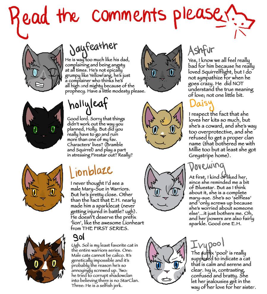 Beautiful Warrior Cat Names