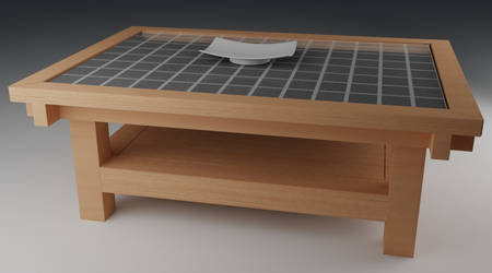 Japanese style table