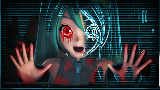 Yandere Sonic Hatsune Miku By 3girls1website