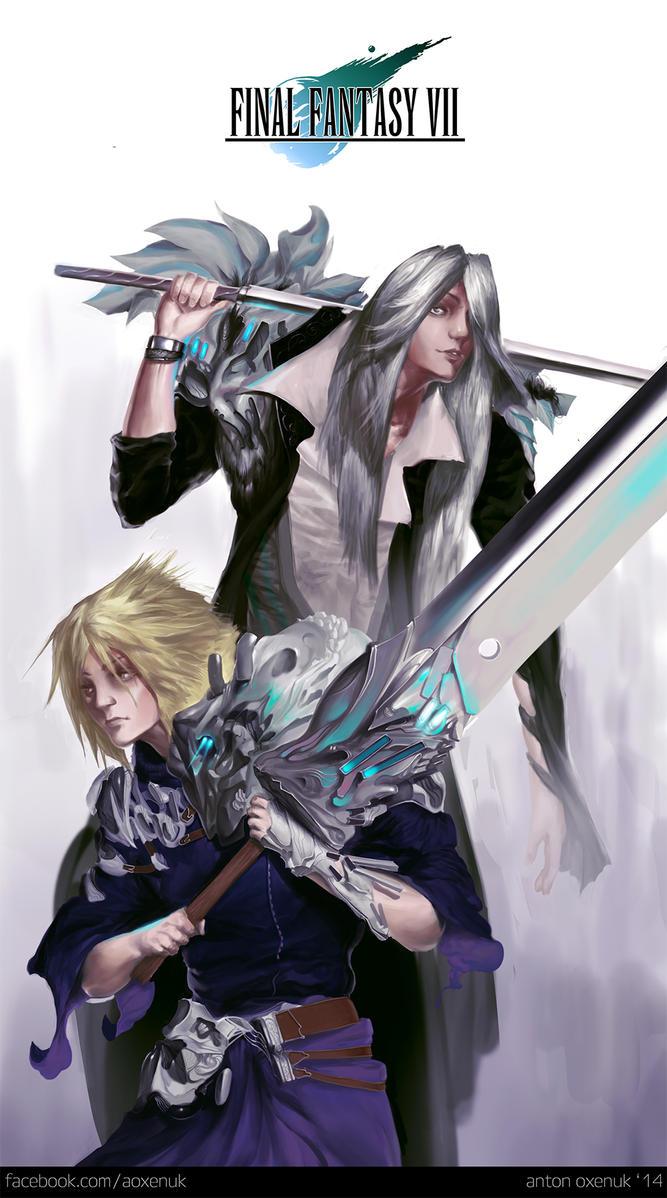 Final Fantasy VII by aoxenuk
