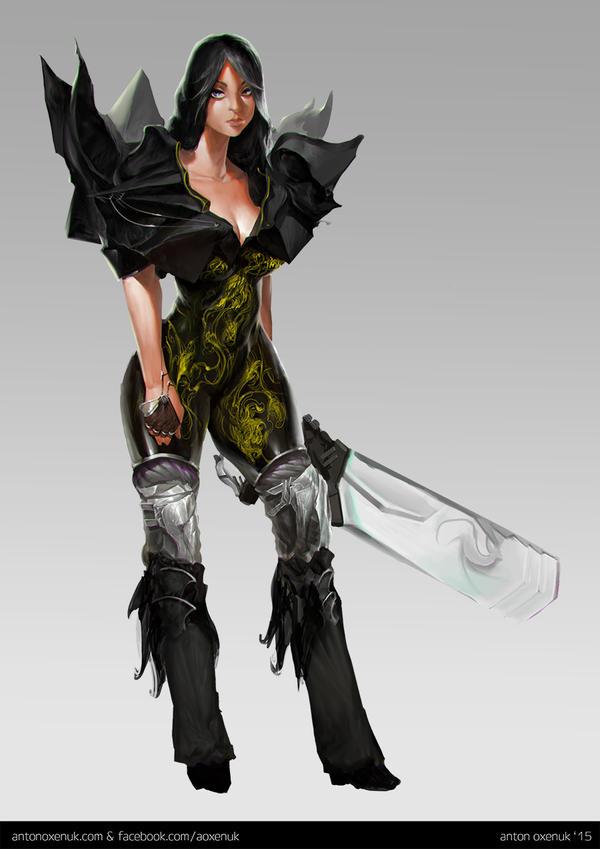 HC Concepts IV - Marauder by aoxenuk