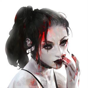 Vampire Commission Portrait XIII