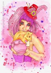 Emilie Autumn - fanart by Yawannka