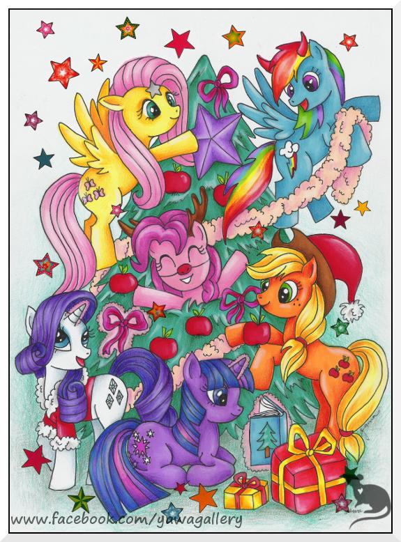 Christmas is Magic by Yawannka