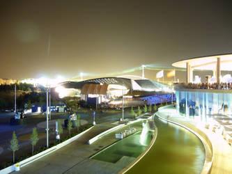 Pabellon Puente en la Expo by Ladynere
