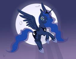 Princess Luna by Isegrim87