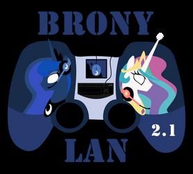 Brony Lan 2.1 Logo - 2 by Isegrim87