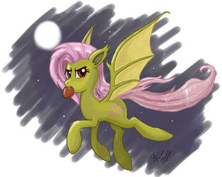 Flutterbat - Fly in the night by Isegrim87
